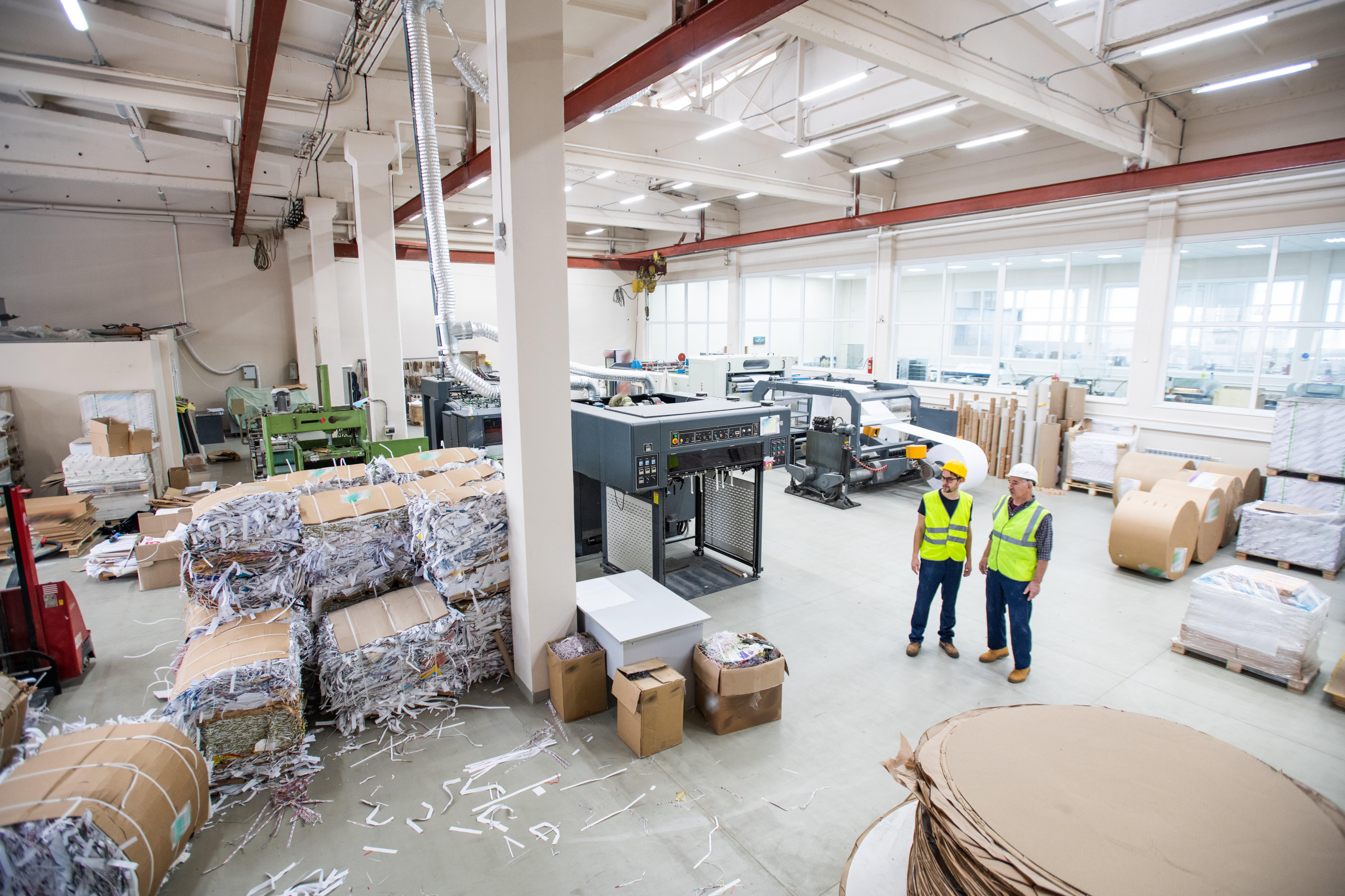 recyclage prospectus papier