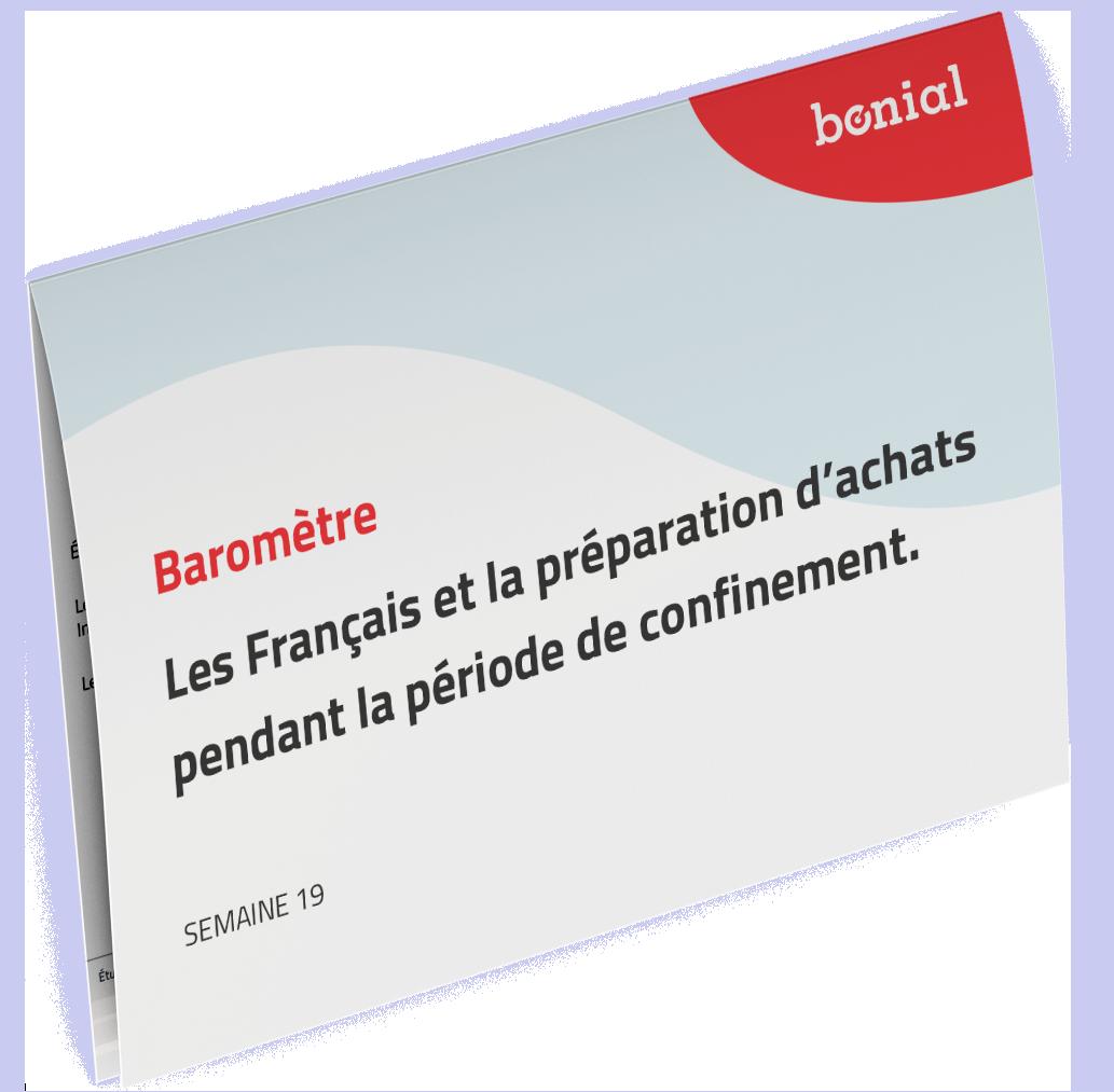 2020 - Les Français et la préparation d'achats pendant la période de confinement (Vague 3, Semaine 19)