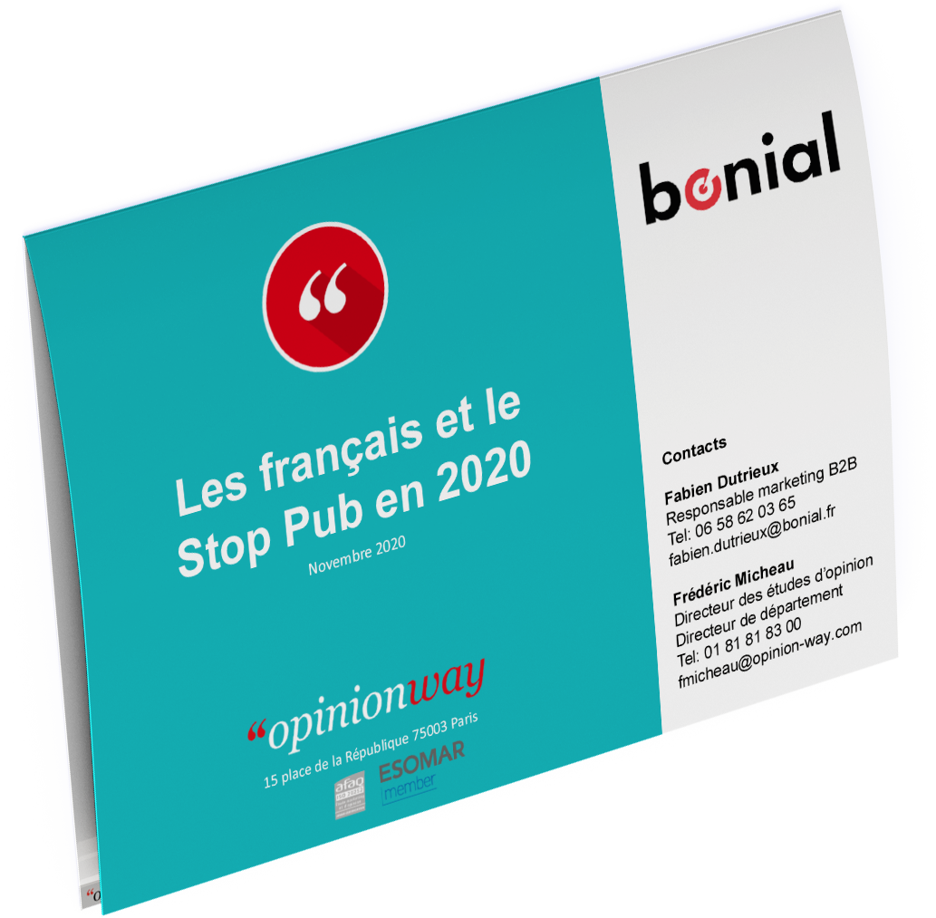 Les français et le Stop Pub en 2020