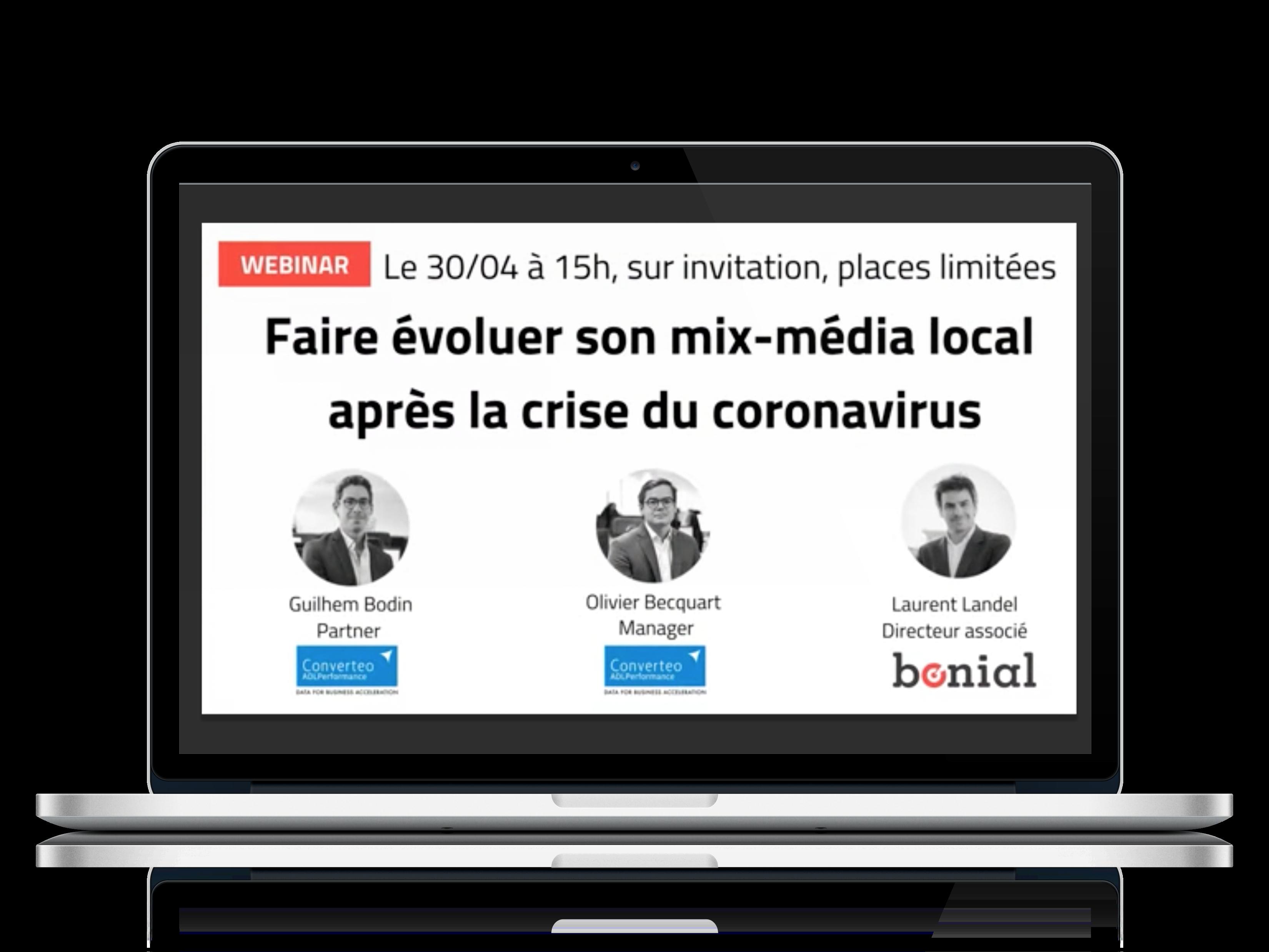 Faire évoluer son mix-média local après la crise du coronavirus (webinar)