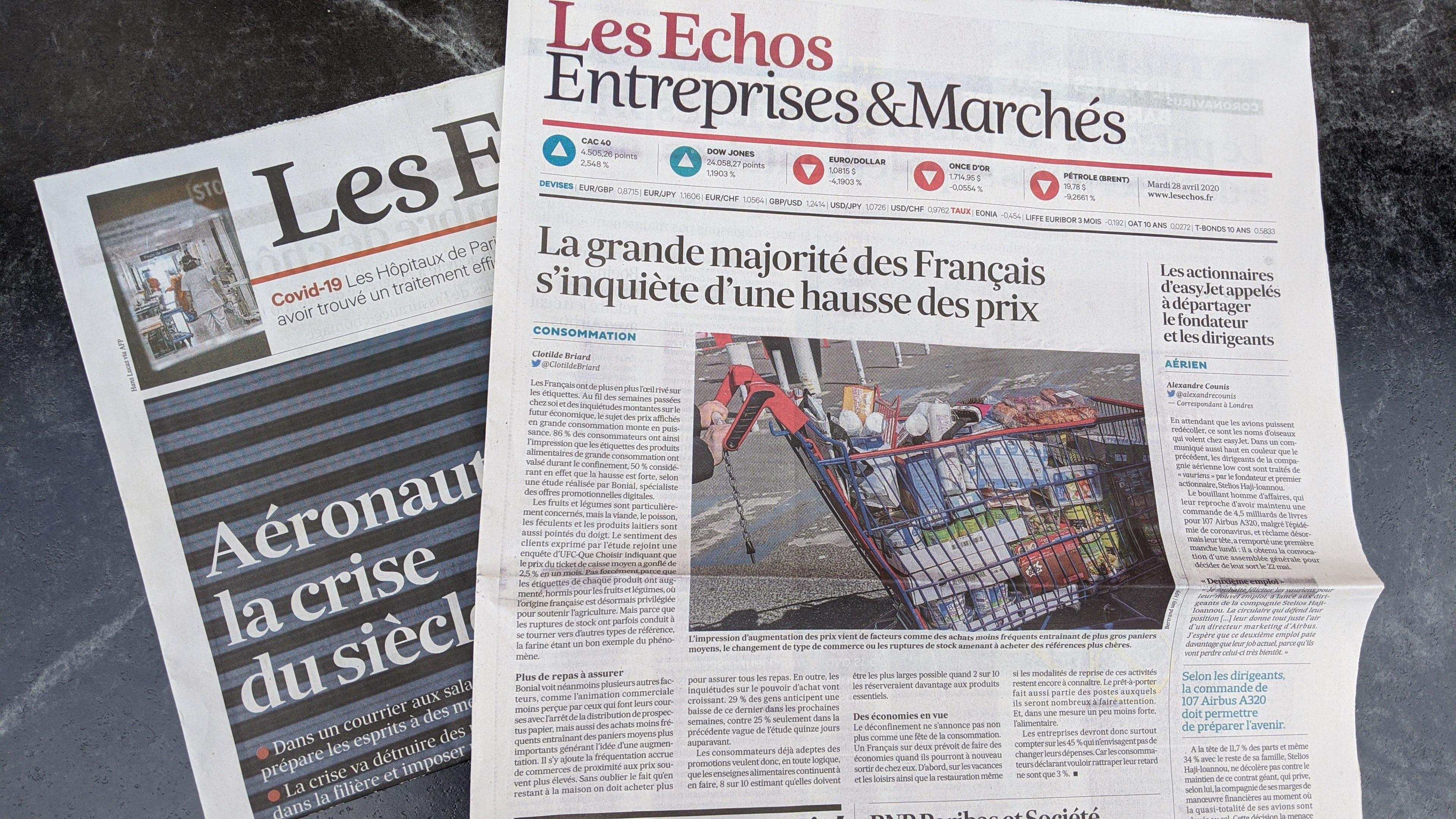 Coronavirus : la grande majorité des Français s'inquiète d'une hausse des prix
