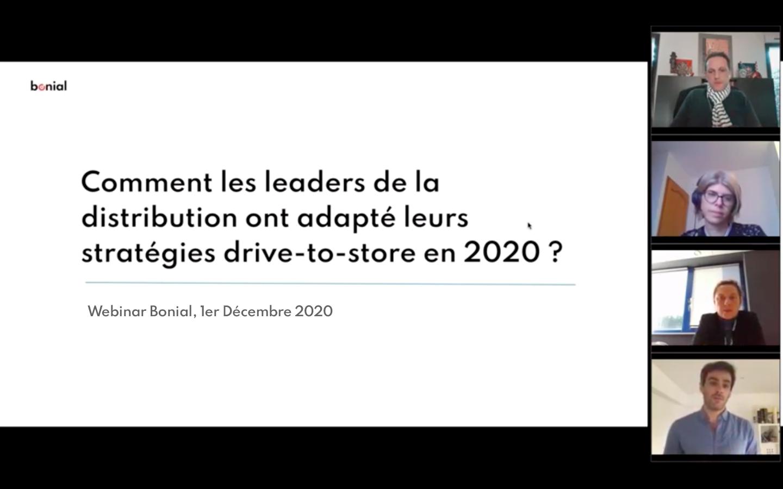Webinar Comment les leaders de la distribution ont adopté leur stratégie Drive-to-Store en 2020 ?